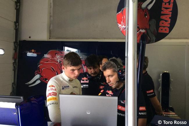 Max Verstappen - Xevi Pujolar - Toro Rosso