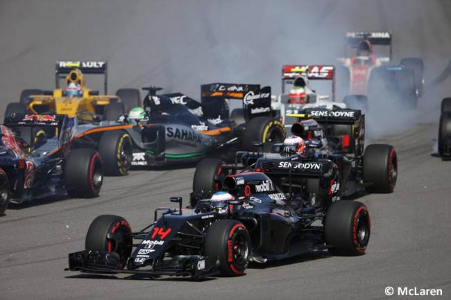 McLaren - GP Rusia 2016