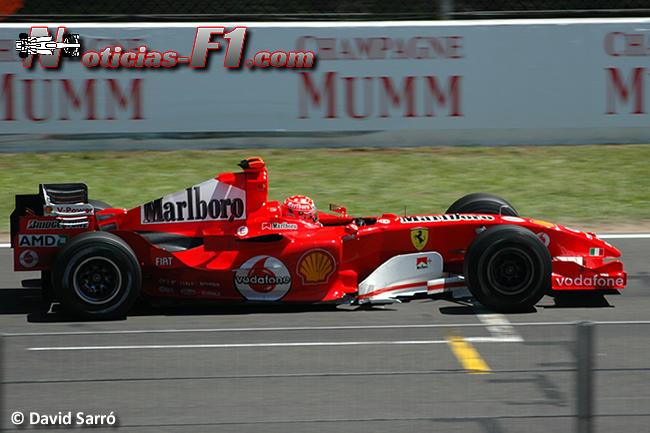 Michael Schumacher - Scuderia Ferrari 2015 - www.noticias-f1.com - David Sarró