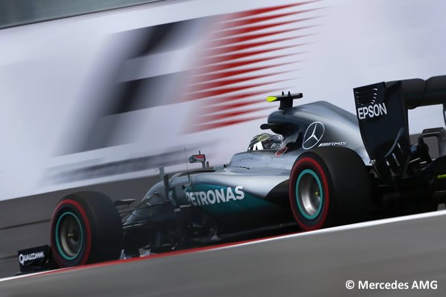 Nico Rosberg - Mercedes AMG - GP Rusia 2016