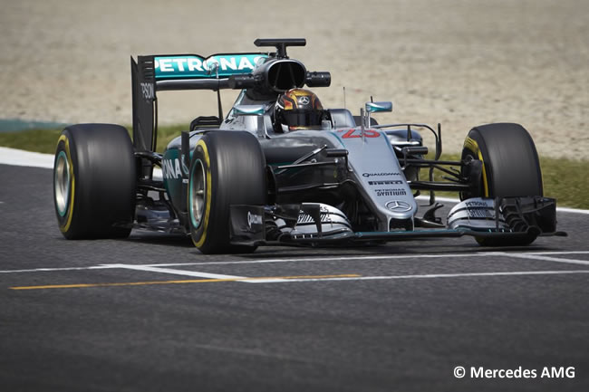 Pascal - Mercedes - Barcelona Test 2016