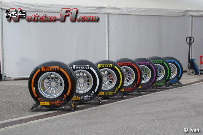 Pirelli - Gama Neumáticos F1 2016 - www.noticias-f1.com