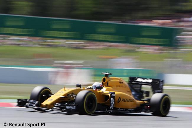 Renault GP España 2016 - Calificación
