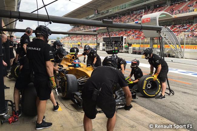 Renault Sport F1 - GP España 2016