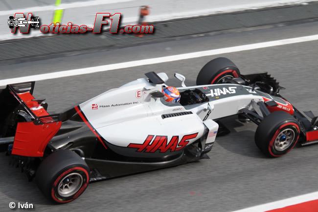 Romain Grosjean - Haas - www.noticias-f1.com
