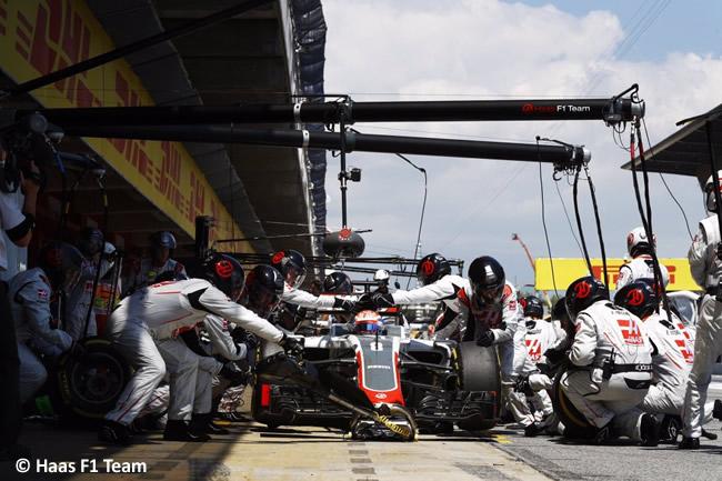Romain Grosjean - Haas F1 Team - GP España 2016