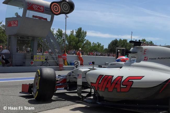 Romain Grosjean - Haas F1 Team - Calificación GP España 2016