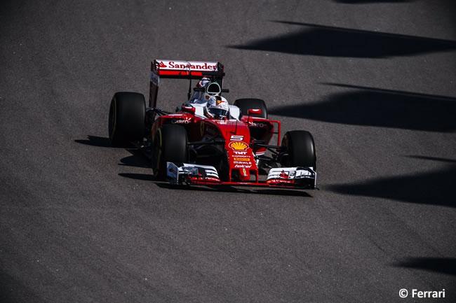 Sebastian Vettel - Scuderia Ferrari - GP Rusia 2016