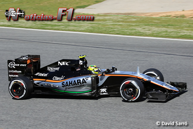 Sergio Pérez - Force India - www.noticias-f1.com - David Sarró