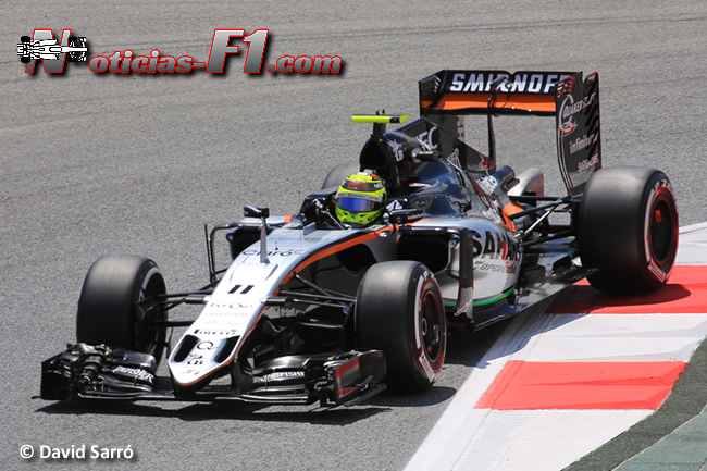 Sergio Pérez - Force India - www.noticias-f1.com - David Sarró