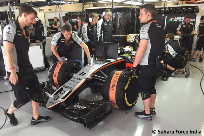Sergio Pérez - Sahara Force India - Gran Premio de Rusia 2016
