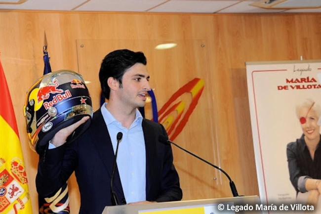 Carlos Sainz - Legado de María de Villota