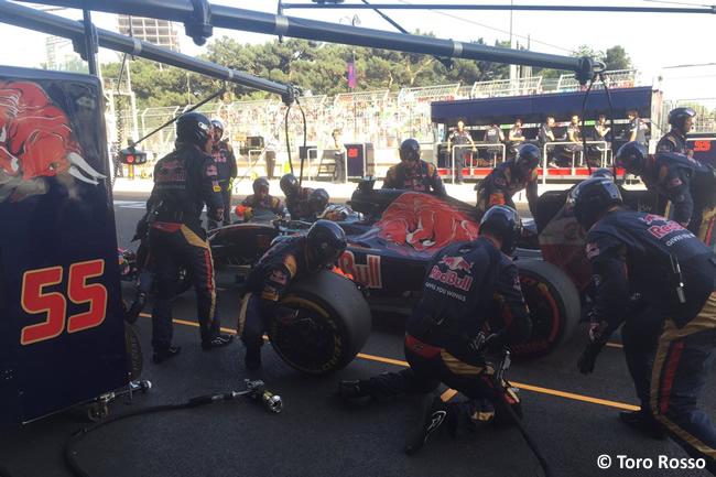 Carlos Sainz - Toro Rosso - GP Europa 2016