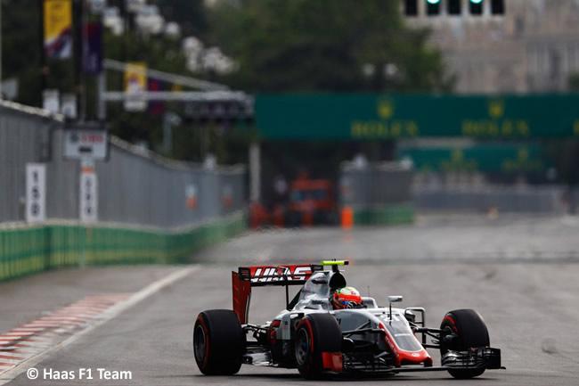 Esteban Gutiérrez - Haas - GP Europa - Bakú