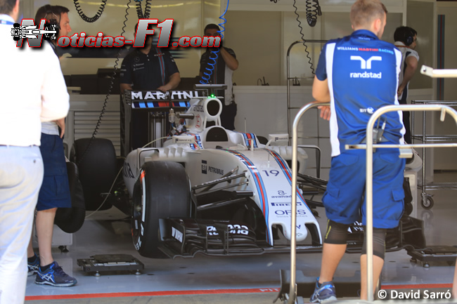 Felipe Massa - Williams - Box - www.noticias-f1.com - David Sarró