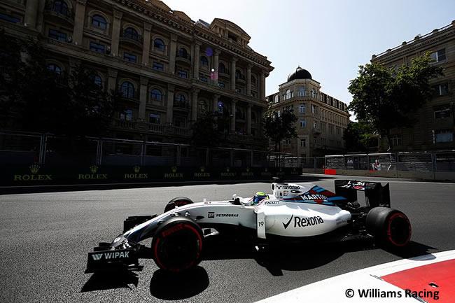 Felipe Massa - Williams - GP Europa 2016 - Bakú