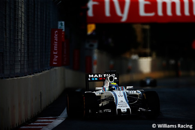 Felipe Massa - Williams - GP Europa - 2016 - Bakú