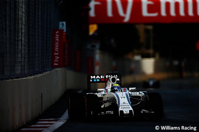 Felipe Massa - Williams - GP Europa - 2016 - Bakú