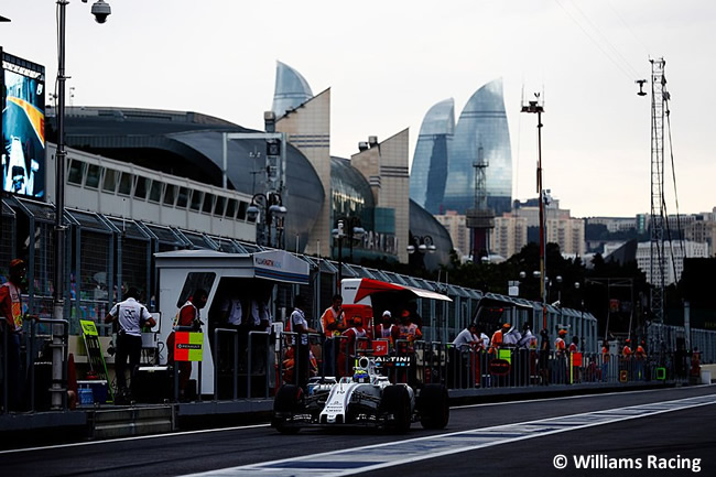 Felipe Massa - Williams - GP Europa - Bakú 2016