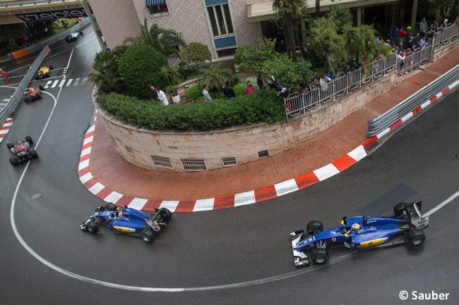 Felipe Nasr - Marcus Ericsson - Sauber - GP Mónaco 2016