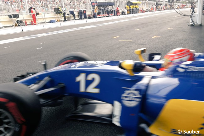 Felipe Nasr - Sauber - GP Europa - Bakú 2016