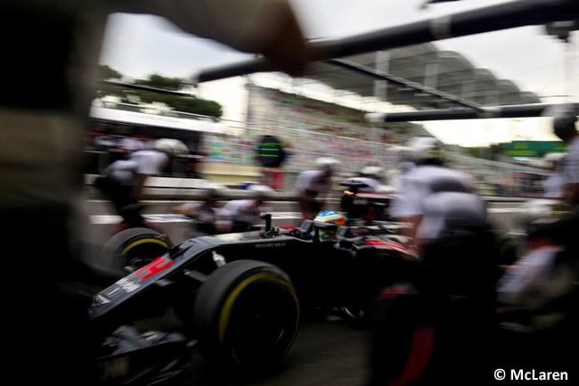 Fernando Alonso - McLaren- GP Europa 2016 - Bakú