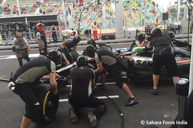 Force India - GP Europa - Bakú 2016