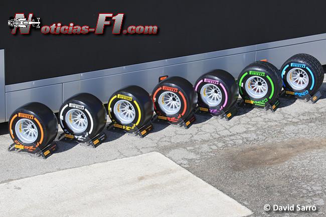 Gama Pirelli - www.noticias-f1.com - David Sarró
