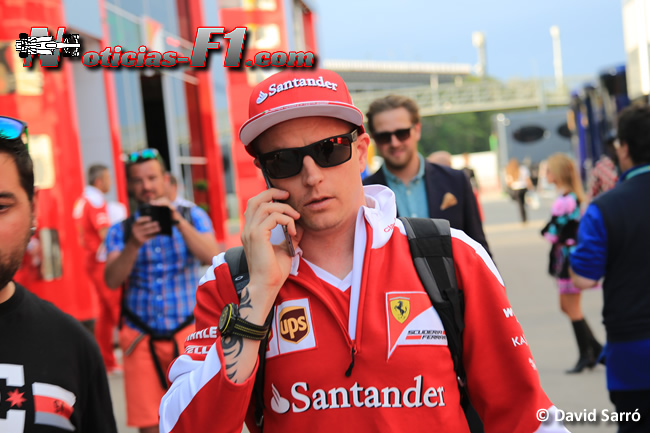 Kimi Raikkonen - Scuderia Ferrari - www.noticias-f1.com - David Sarró