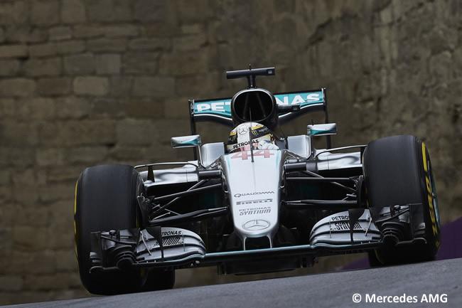 Lewis Hamilton - Mercedes AMG - GP Europa 2016 - Bakú