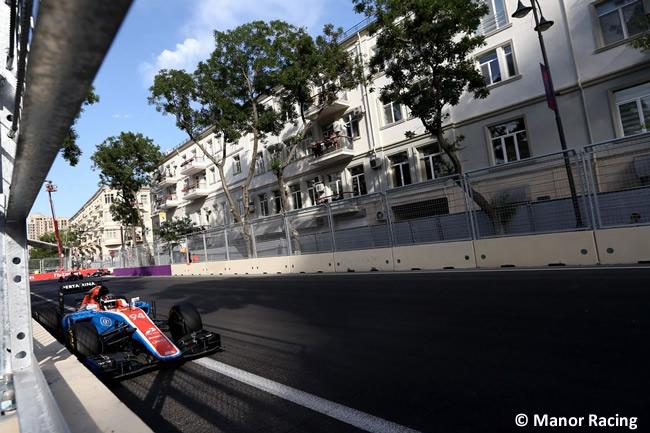 Manor - GP Europa - Bakú 2016
