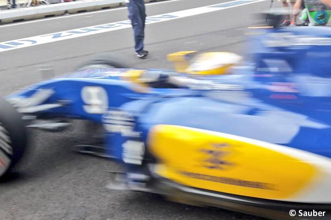 Entrenamientos - GP Europa Bakú 2016 - Sauber - Marcus Ericsson