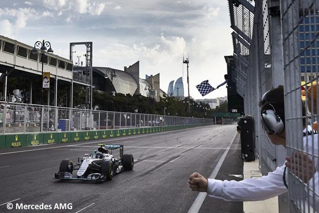 Nico Rosberg - Mercedes AMG - GP Europa 2016 - Bakú