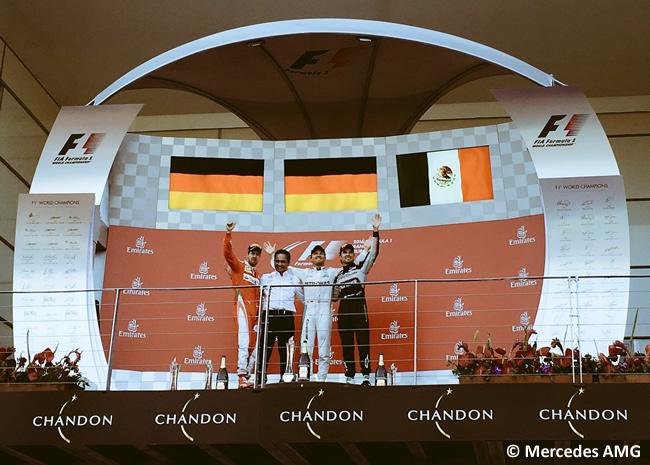 Nico Rosberg - Victoria Gran Premio de Europa 2016 - Bakú - Sebastian Vettel - Sergio Pérez