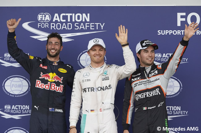 Nico Rosberg - Mercees AMG - Pole - Gran Premio de Europa 2016 - Bakú