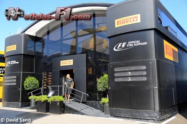 Pirelli motorhome - www.noticias-f1.com - David Sarró