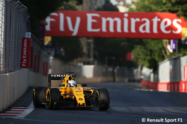 Renault - GP Europa 2016 - Bakú