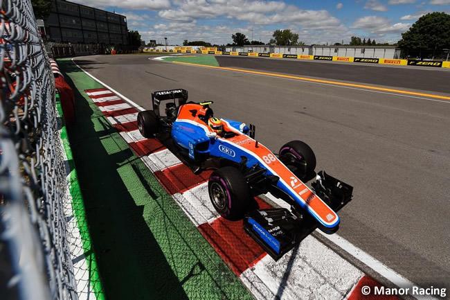 Rio Haryanto - Manor - GP Canadá