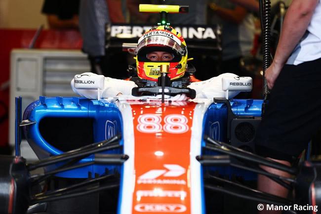Rio Haryanto - Manor - GP Europa Bakú 2016