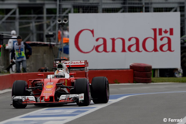 Sebastian Vettel - Scuderia Ferrari - GP Canadá