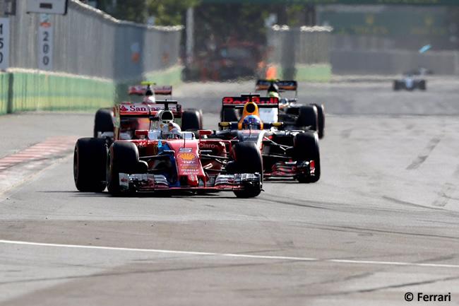 Sebastian Vettel - Scuderia Ferrari - GP Europa 2016 - Bakú
