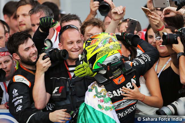 Sergio Pérez - Force India - GP Europa 2016 - Bakú