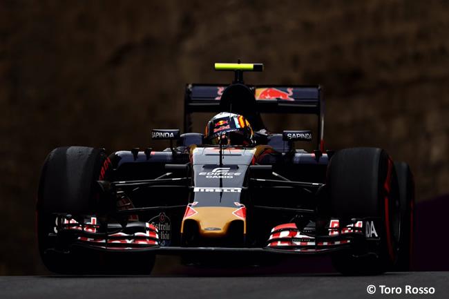 Toro Rosso - GP Europa - Bakú 2016