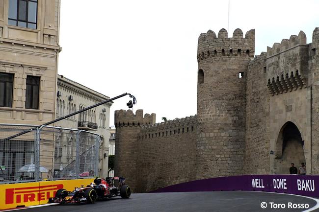 Toro Rosso - GP Europa 2016 - Bakú