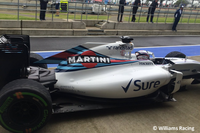 Alex Lynn - Williams - Test Temporada Silverstone Día 1