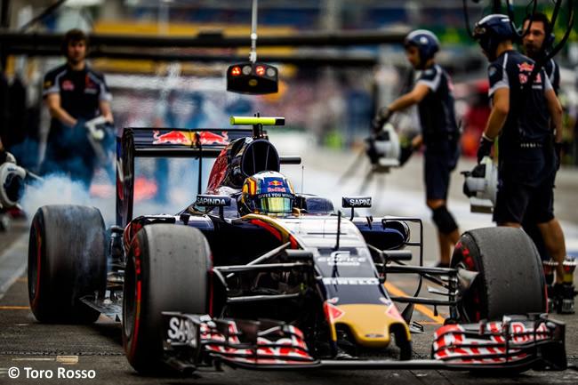 Carlos Sainz - Toro Rosso - GP Alemania, Hockenheim 2016