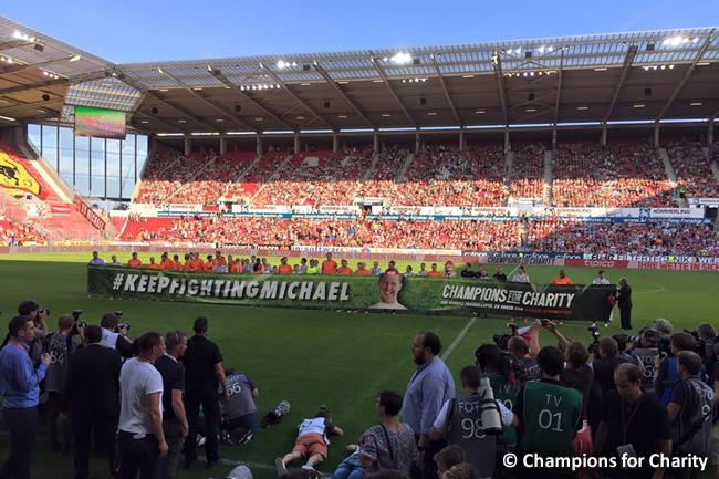 Champions for Charity - Homenaje - Michael Schumacher