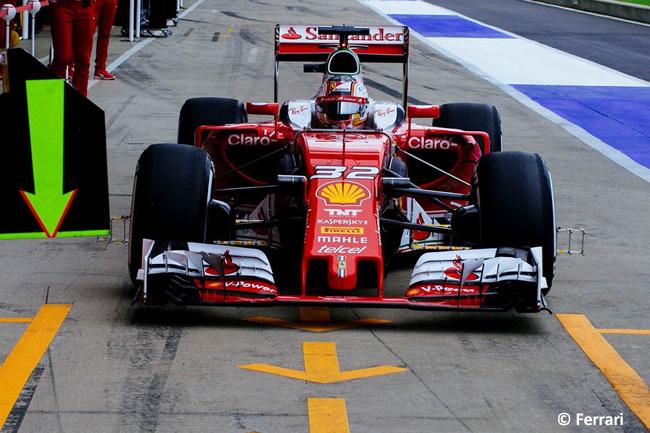 Charles Leclerc- Test Silverstone - Día 1