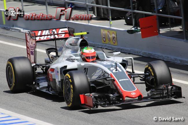 Esteban Gutiérrez - Haas - www.noticias-f1.com - David Sarró