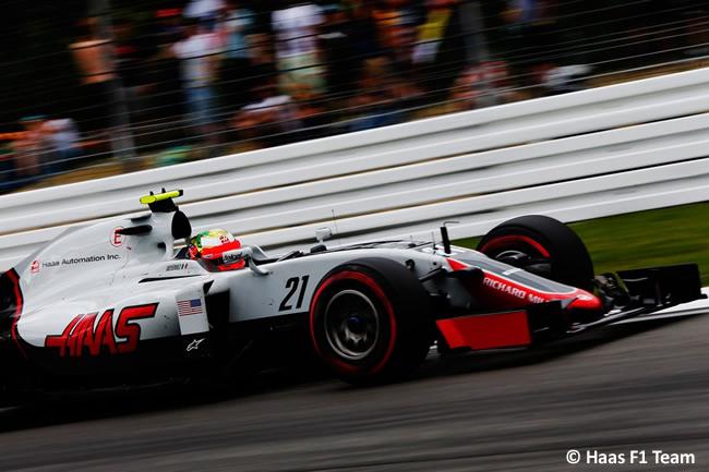 Esteban Gutiérrez - Haas F1 - GP Alemania 2016 - Calificación